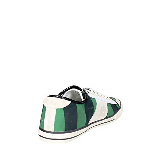 Fecha Tender Low-32 Low Sneakers Para Mujer Negro / Verde