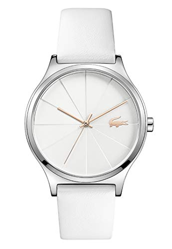 Lacoste Womens Analogue Classic Quartz Watch with Leather Strap 2001040