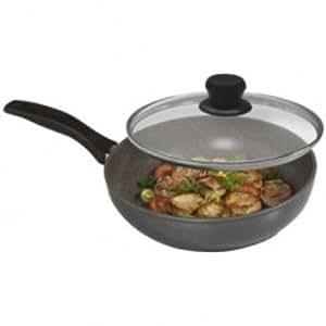 Sauteuse wok facon pierre 28 cm - Tous feux, et plaques induction
