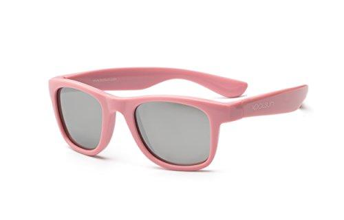 565d1494a41694 Koolsun Baby Sonnenbrille Kinder Wave Fashion Pink Sachet Verspiegelt, 1-3  Jahre