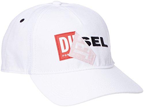 Diesel Herren Basecap Cakerym Cap - one size, weiss (Adriano Goldschmied Jeans)