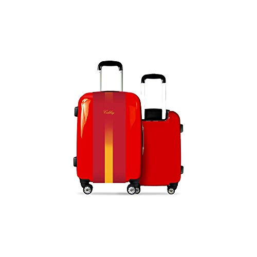 Valise CALIBAG (Taille M) Espagne 2015 Rouge