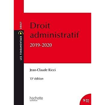 Les Fondamentaux - Droit administratif 2019-2020