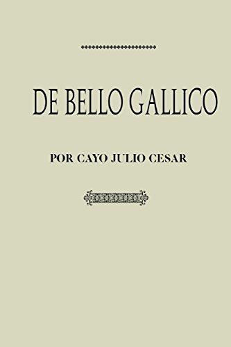 Antología Julio Cesar: De bello Gallico (con notas) por Gaius Iulius Caesar