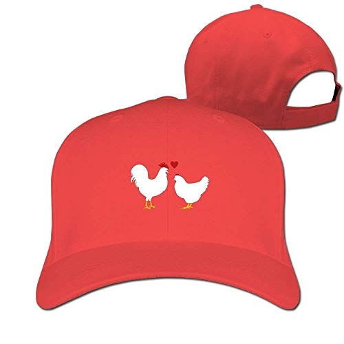 Suxinh Love Chickens Hens Solid Travel Cap Baseball Cap Sport Hats for Men and Womens