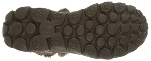 Skechers - Go Walk Movechugga Imprint, Stivaletti Donna Marrone (Marrone (Choc))