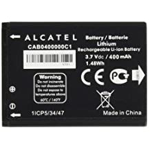 Thephonecenter© - Batteria originale Alcatel cab0400000C1 per One Touch 1040X, 400 mAh