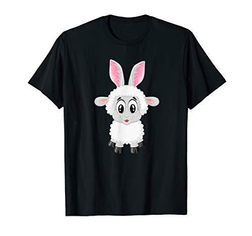Schaf im Osterhasen Ei Kostüm T-Shirt Geschenk (Grüne Schaf Kostüm)