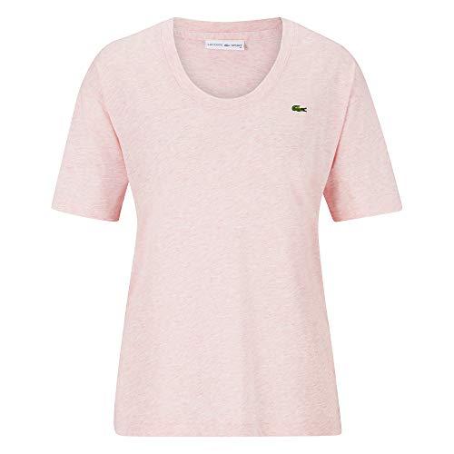 Lacoste Sport Damen T-Shirt pink (315) 40 - Gold-damen-pink T-shirt
