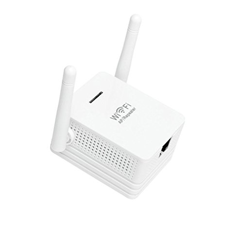 Eine Wpa2-wlan-router (ACEHE Wifi Repeater Verstärker ual Band 2.4GHz 300Mbps Wlan Signal Signalverstärkung Wireless Drahtlos Booster Extender, 3x Betriebsmodi (Repeater, Access Point, Router) für WEP, WPA/WPA2, WPA-PSK/WPA2-PSK + WPS-Taste)