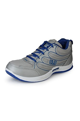 Columbus Men Grey Blue Sports Shoes (7 UK)  available at amazon for Rs.399