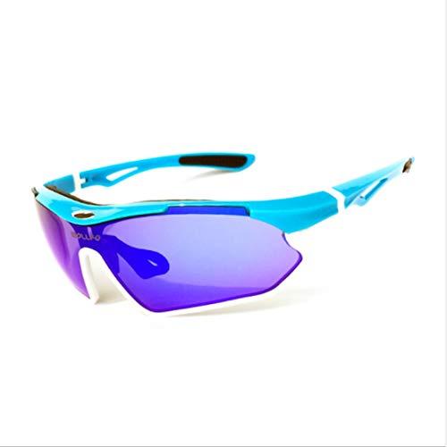 Retro Vintage Sonnenbrille, für Frauen und Männer Langlebig polarisierte Sport Sonnenbrille männer Frauen tr90 Rahmen Radfahren Baseball Golf Klettern Laufen Angeln (Farbe : A001)