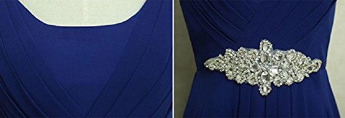 Beauty-Emily -  Vestito  - Moda - Senza maniche  - Donna Royal Blue