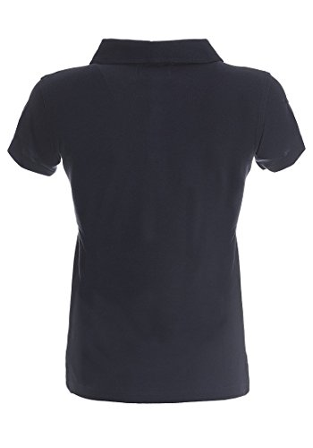 DESIRES Lillian Damen Poloshirt Kurzarmshirt Insignia Blue