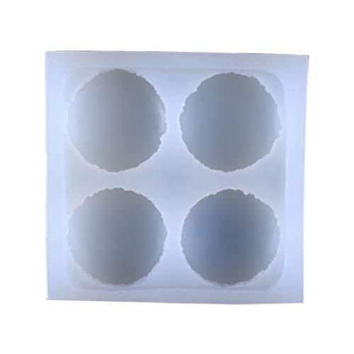 Pommee Macaron - Molde Silicona Modelado Cristal epoxi