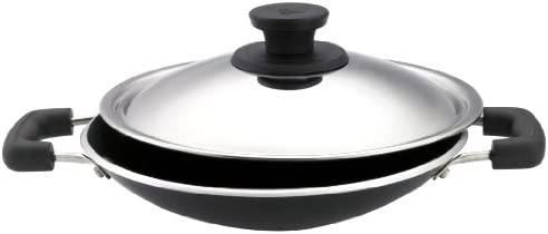 Pigeon Special Non-Stick Appachetty with Lid, 200mm