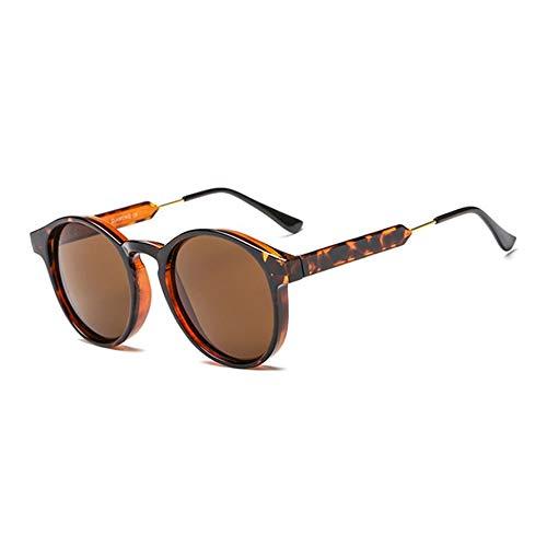 HoganeyVan Mode Praktische und solide Vintage Brand Design Spiegel Sonnenbrille Metall reflektierende Flache Linse Sonnenbrille
