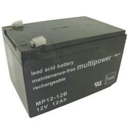 Multipower MP12-12C Blei Akku 12 Volt 12Ah Zyklenfest, Cycle