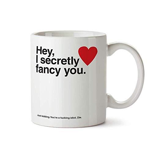 Neuheit Bedruckt Becher Valentinstag S Tag Geschenke I Secretly Kostüm Du Lustiger Becher Tasse Kaffee Tee Geschenk (Tasse Tee Kostüm)