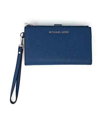 Michael Kors Jet Set Travel Double Zip Saffiano Leather