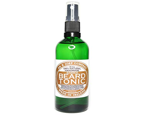DR K Soap Company Beard Tonic Cool Mint Barber size mit Pumpe 100 ml (Soap-kunststoff-formen)