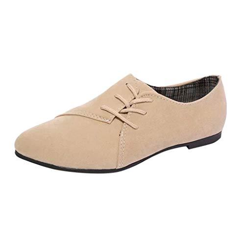 best loved 10255 fcdd8 B-commerce Retro Flache Schuhe Mit Einzelnen Schuhen - Damenschuhe  Schnürschuhe Freizeitschuhe Flache Schuhe Schuhe