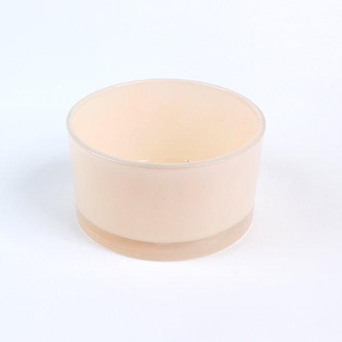 Ciotola in Vetro Candy, cilindro, Ø 8,5cm, colore: albicocca