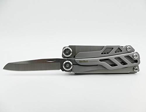 NEXTORCH Nextool KT5020 Multi-Tool Flagship 2019 Multifunktionswerkzeug Multitool Silber