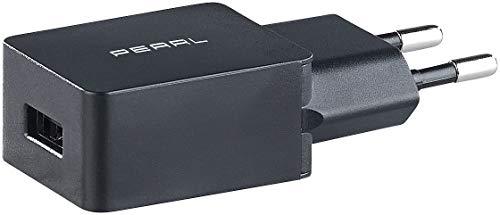 PEARL USB Steckernetzteil: USB-Netzteil für Smartphone, E-Book-Reader u.v.m, 2 A / 10 W, schwarz (Netzstecker mit USB Anschluss)
