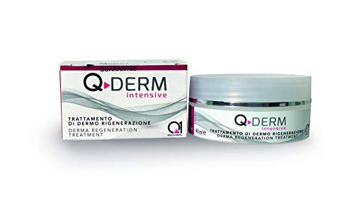 Q-DERM crema per rughe e cicatrici - rigenerazione e riparazione. riempimento rughe, effetto anti aging, rassodante, volumizzante ed idratante - dalla piu avanzata ricerca di biotecnologia