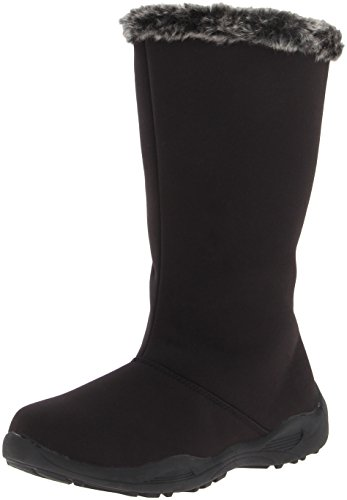Propet Madison Tall Zip Synthétique Botte d'hiver Black