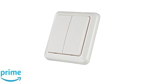 Trust Smart Home AWS-3500S Mini-Funk-Einbauschalter f/ür Steckdosen