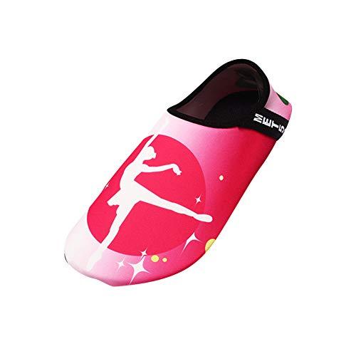 MISSMAO Damen Herren Strandschuhe Badeschuhe Schwimmen Aqua Barfuß Wassersport Yoga Schuhe Leicht Rutschfeste,Stil 6,42/43 EU