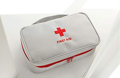 Apark Mini Erste Hilfe Set, kleines Baby-Erste-Hilfe-Set & Notfall-Set für Reisen, Zuhause, Auto, Büro, Fahrzeug, Camping, Arbeitsplatz & Outdoor (Weiß)
