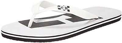 DC Shoes Spray Logo - Sandalias para hombre, color negro, talla 40.5