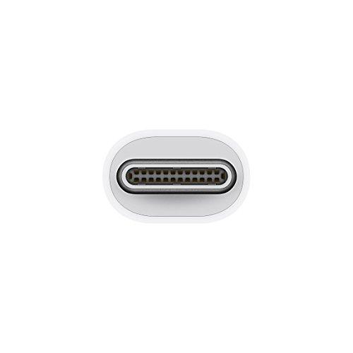 Apple MMEL2ZM/A Thunderbolt 3 (USB-C) Thunderbolt 2 Color blanco adaptador de cable - Adaptador para cable (Thunderbolt 3 (USB-C), Thunderbolt 2, Macho/hembra, Color blanco)