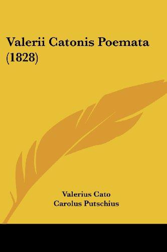 Valerii Catonis Poemata (1828)