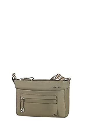 SAMSONITE Move 2.0 - Horizontal Shoulder Bag S Messenger Bag, 25 cm, Green (Silver Green) (Samsonite Schultertasche)