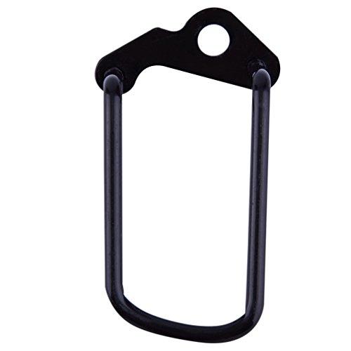 ulable Radfahren Bike Aluminium Fahrrad hinten Gear Umwerfer Kette Stay Guard Displayschutzfolie
