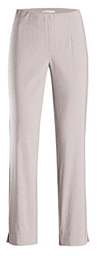 Stehmann INA-740, Bequeme,stretchige Damenhose-Bitte mindestens 1 Nummer Kleiner bestellen, Kalk, 48 (Von Tasche Kalk)
