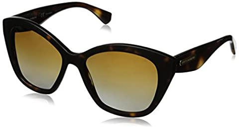 DOLCE & GABBANA DG 4220 Sunglasses 2937T5 Havana Matte Havana 55-17-140