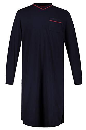 JP 1880 Homme Grandes Tailles Chemise de Nuit Bleu Marine 3XL 721331 70-3XL