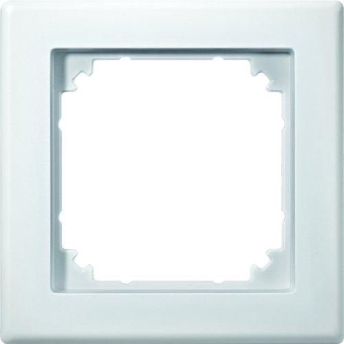 Merten 484119 M-SMART-Rahmen, 1fach, polarweiß