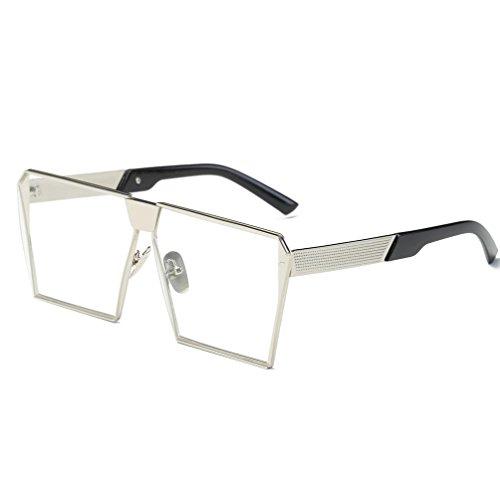 OverDose OverDose Unisex Sommer Frauen Männer Moderne Modische Spiegel Polarisierte Katzenauge Sonnenbrille Brille Damensonnenbrille Herrensonnenbrille (I)