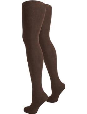 3 wärmende und blickdichte Strickstrumpfhosen für Damen - Winter oder Herbst Strumpfhosen