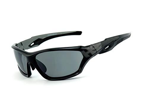 Preisvergleich Produktbild HSE SportEyes® / UV400 Schutzfilter,  selbsttönende HLT® Kunststoff-Sicherheitsglas nach DIN EN 166 / Sportbrille,  Radbrille,  Sonnenbrille