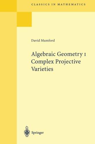 Algebraic Geometry I