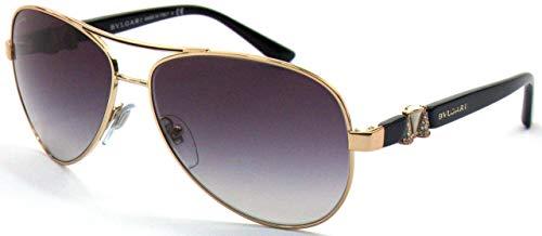 Bulgari Damen 0Bv6080B 376/8G 59 Sonnenbrille, Gold (Pink/Grey),
