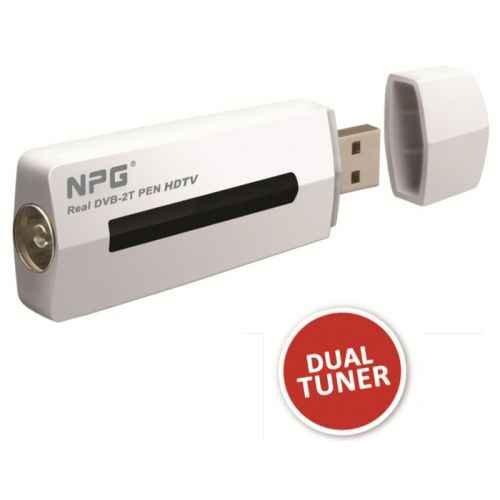 Npg – Auténtico dvb 2t tdt para ordenador. 2 sintonizadores