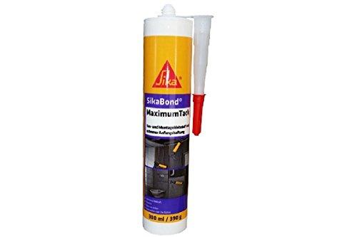 SikaBond MaximumTack Bau- und Montageklebstoff 310 ml weiss